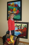 Artist, Painter, Carolyn McDonald, Cowichan Bay